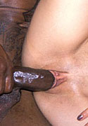 Perky breasted latina gets fucked by a big black penis from Lil Latinas