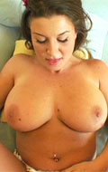 Hottie tittie fucked and tits covered in jizz pov style from POV Fantasy