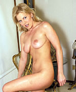 Blonde Milf Playing With Her Dildos from Screaming O