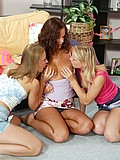 Raylene Richards at a lesbian party from Raylene Richards