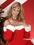 Raylene Richards sexy in stockings for Christmas from Raylene Richards