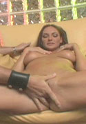 Hot bust babe gets fingers in her twat and cum in her mouth from Squirting 101