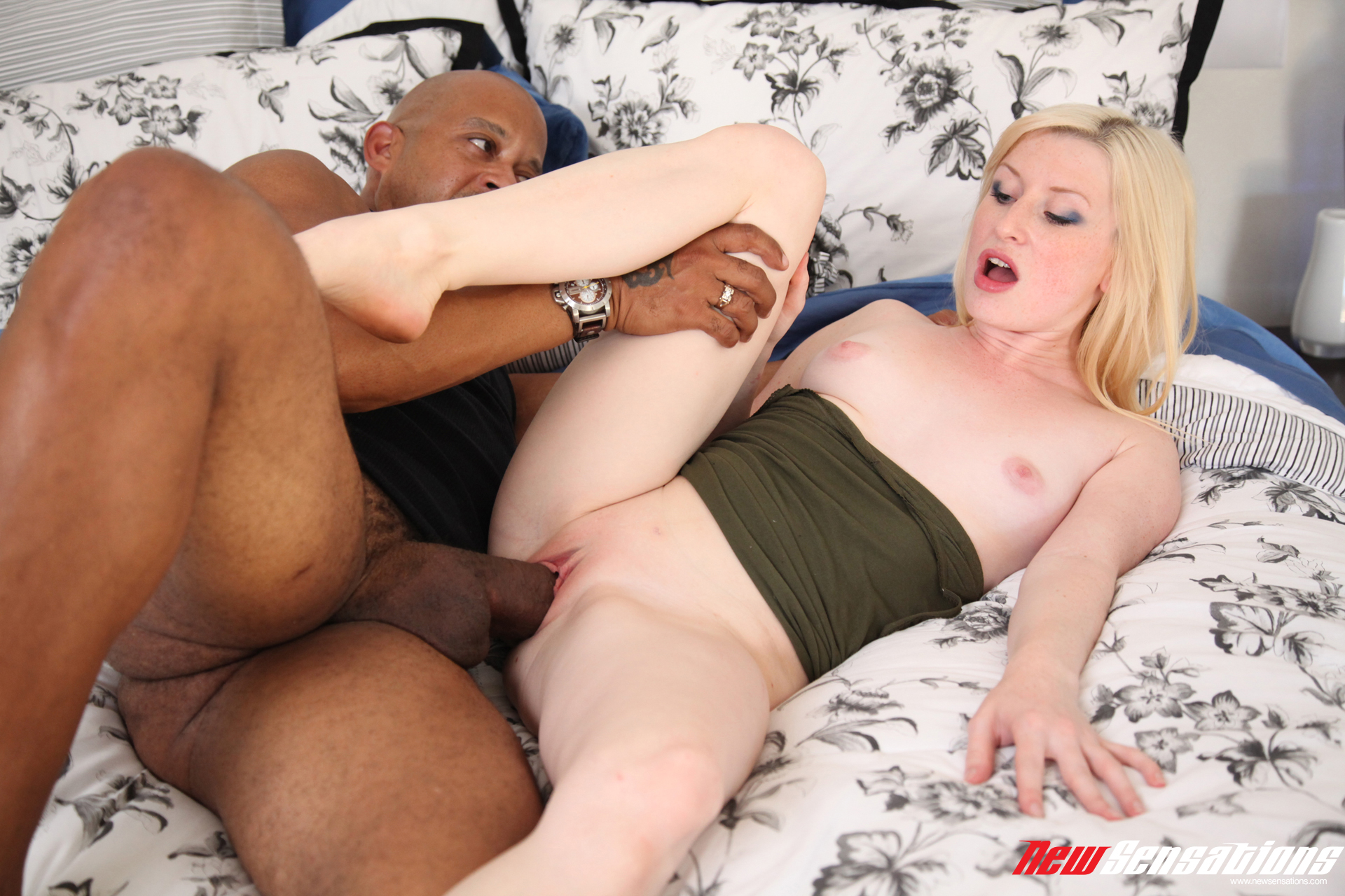 Blond gangbang slut craves for the semen 1