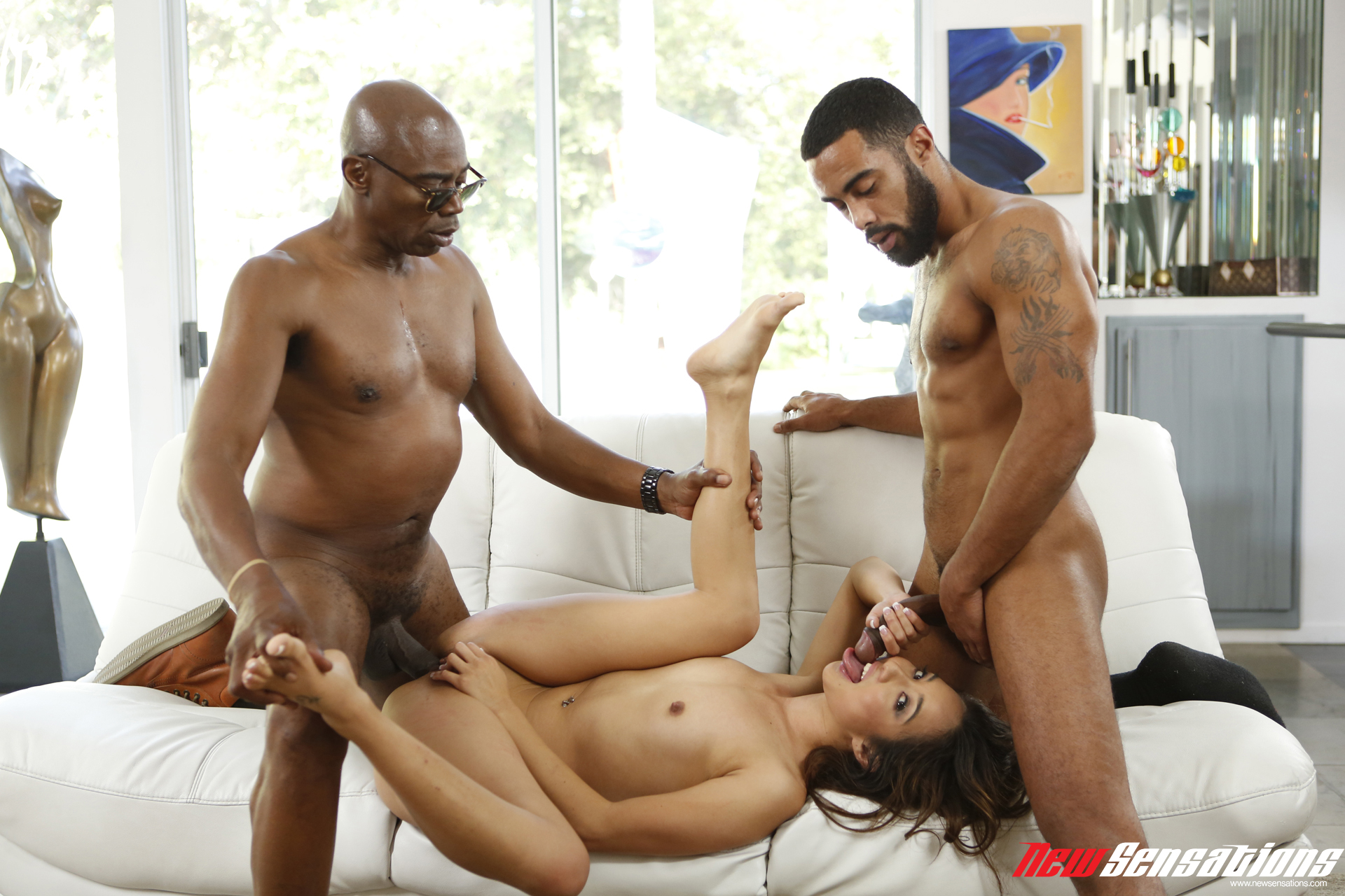 Gangbang Session With A Fast Boy