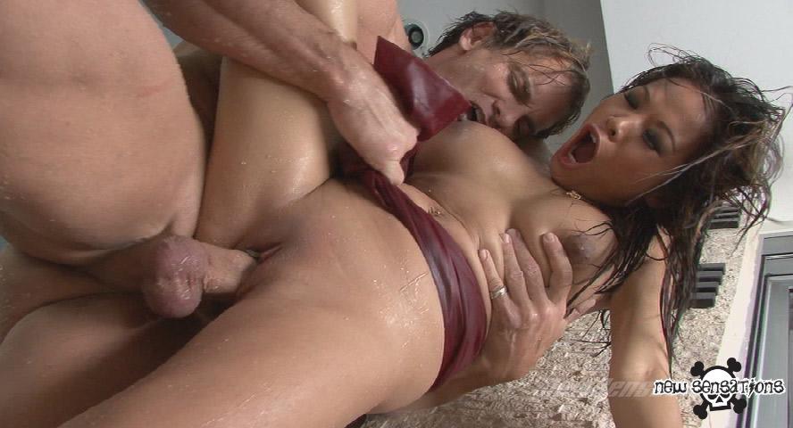 Tits dripping spunk
