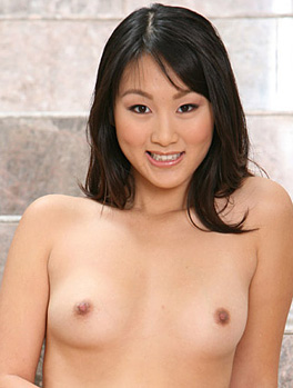 Asian Beauty Evelyn Lin Shows Her Tiny Tits And Pussy from Fresh Outta High School