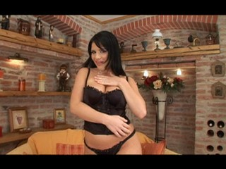 Busty Giovanna in sexy lingerie getting fucked hard from Heavy Handfuls