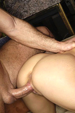 Holly West Two Cocks Deep In Her Pink from Jizz Bomb