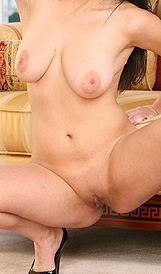 Busty Beauty Evie Delatosso Unleashes Her Huge Rack from Lil Latinas