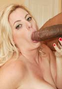 Lusty blonde sucks and fucks big black cock from Mr Biggz