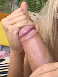 Kissy Kapri gobbles your cock pov style from Papa Loads