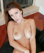 Andie Valentino masturbating with her vibrator from Screaming O